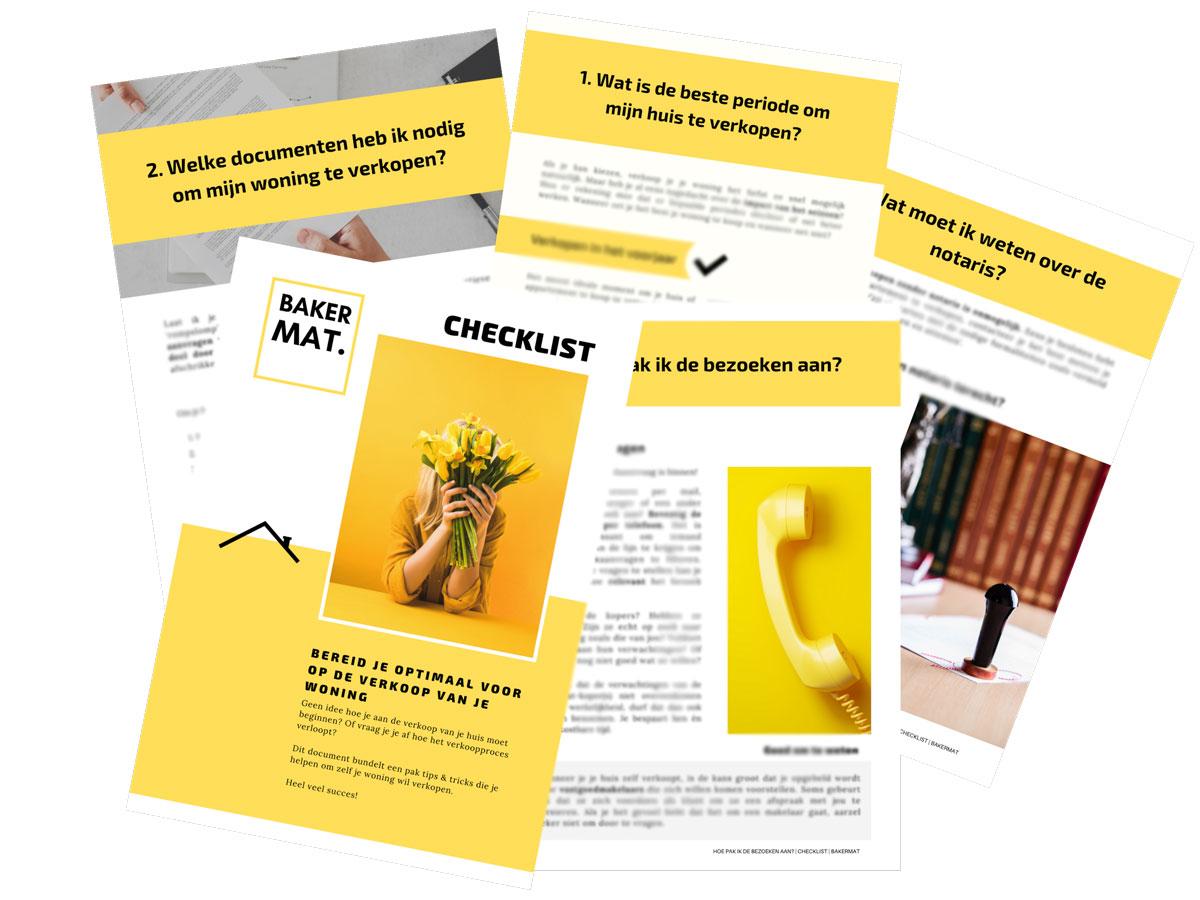 Checklist van 29 pagina's